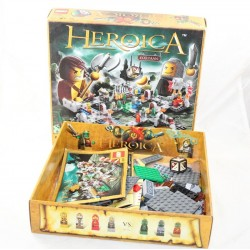 Lego 3860 board game Lego Games Heroica Fortaan The besieged castle