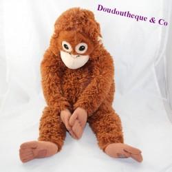 Big plush monkey IKEA brown long hairs 62 cm