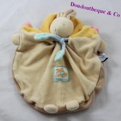 Doudou flat rabbit MOULIN ROTY beige knot 26 cm
