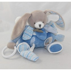 Rabbit Activity DOUDOU AND COMPAGNIE Blue Celestin 23 cm
