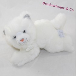 WHITE panther bearER OURS HISTORY So Chic silvery white HO2870 23 cm