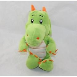 Dragon cub FERRERO KINDER orange green 23 cm