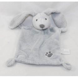 Doudou flat rabbit NICOTOY grey footprint Simba Toys 24 cm