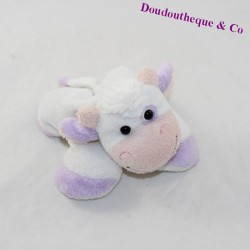Doudou cow CMP purple white 15 cm