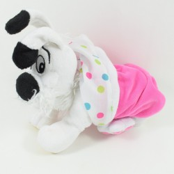 Peluche dog Idefix PARC ASTERIX and its cover 25 cm