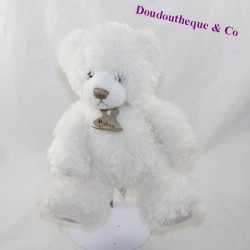 Doudou bear HISTORY OF OURS Calidoux PM white HO2323 23 cm