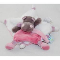 Doudou flat hippo DOUDOU AND COMPAGNY You're where doudou Tatoo DC3387 18 cm
