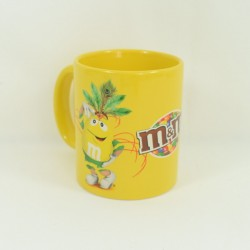Mug Miss Brown M-M'S brown ceramic cup 10 cm