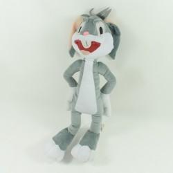 Rabbit Fluffy Bugs Bunny LOONEY TUNES warner bros grey 40 cm