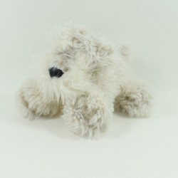Doudou dog HISTORY OF OURS beige long hairs 16 cm