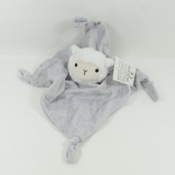 Doudou flat sheep SHENZHEN M-J TOYS white grey