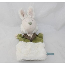 Doudou puppet rabbit MOULIN ROTY It was once 25 cm