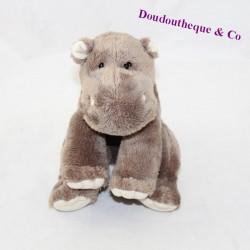Soft soft hippopotamus FRIENDS Lgri brown seated 15 cm