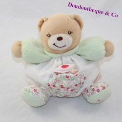 Doudou ball bear KALOO Liberty pocket bird flowers 18 cm