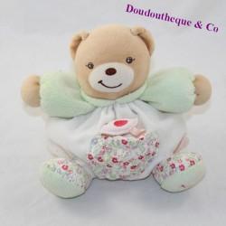 Doudou ball bear KALOO Liberty pocket bird flowers 18 cm