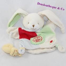 Doudou puppet rabbit DOUDOU AND COMPAGNY snail 23 cm