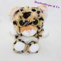 Cubed lion BAZOOKA brown big golden eyes 22 cm