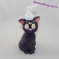 Soap dispenser Luna cat Sailor Moon purple ceramic 20 cm