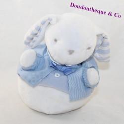 JACADI blue bell white rabbit 18 cm