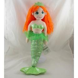 TeDI Kuschel Freund green wool hair plush doll