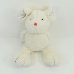 Doudou rabbit KALOO I'm a red beige nose Kaloo pink 30 cm