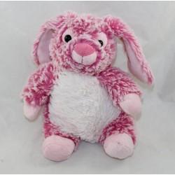 Doudou rabbit RODADOU RODA pink white mottled 23 cm