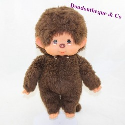 Junior monkey KIKI THE REAL brown eyes signed under the foot 28 cm