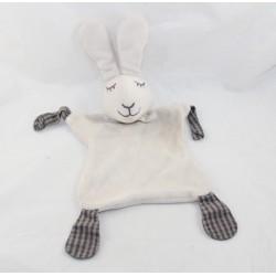 Doudou flat rabbit DPAM baby gray corners fabrics Of The Same
