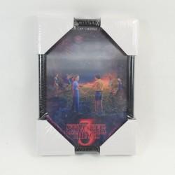 Stranger Things Frame 3D black 15x22 cm