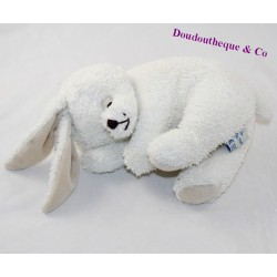 Rabbit cub THE WHITE MARIE PETITES sleeping 22 cm