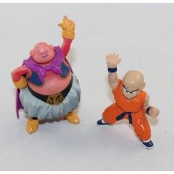 Lot of 2 figurines DRAGON BALL Z Krilin and Boo 8 cm