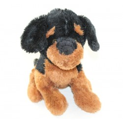 Dog cub MAX - SAX Carrefour brown black 27 cm