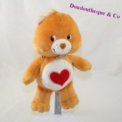 Toubisou Bear Bear JEMINI Care Bears Bisounours orange heart 22 cm