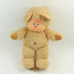 AJENA vintage beige and brown nombrilou bear 1985 33 cm