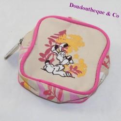 Currency door Idefix dog PARK ASTERIX Bd Asterix and Obelix pink beige 10 cm