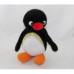 Bolsa de peluche rojo pingüino Pingu JEMINI negro 22 cm