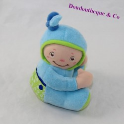 Doudou baby BLUE CHICCO sitting 12 cm
