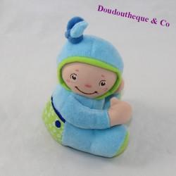 Doudou bebé BLUE CHICCO sentado 12 cm