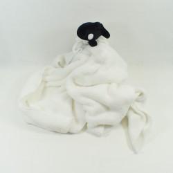 Doudou couverture orque MARINELAND plaid velours blanc