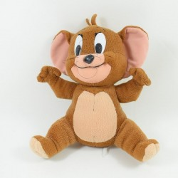 Plush Jerry mouse LOONEY TUNES Tom and Jerry Brown Toons 40 cm