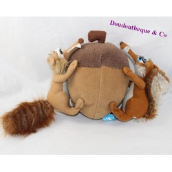 Scrat and Scratina PLAY BY PLAY The Brown Ice Age 18 cm