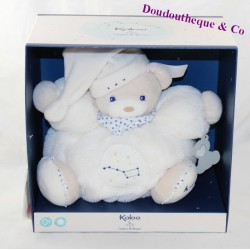 Paw patapouf bear KALOO Small star Shines in black white 25 cm