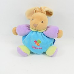 Doudou rabbit KALOO bee ball orange 18 cm