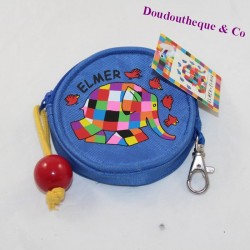 Blue Elmer JA-T 10 cm elephant currency holder