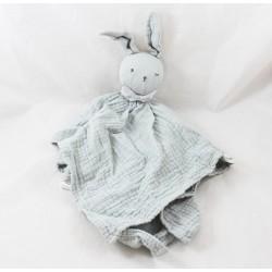 Doudou rabbit lange ELODIE DETAILS green grey wink 40 cm