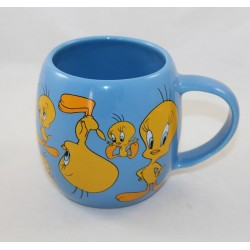 Mug Titi AVENUE OF THE STARS Looney Tunes canary yellow blue Warner Bros.