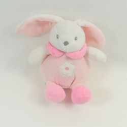 Doudou rabbit CMP P' little rabbit scarf pink 30 cm