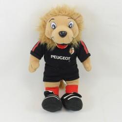 Doudou flat lion Rugby SEBO Stade Toulonnais 29 cm