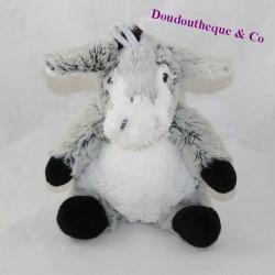 Doudou donkey RODADOU RODA black grey 20 cm