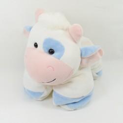 Blue white CMP cow doudou 25 cm